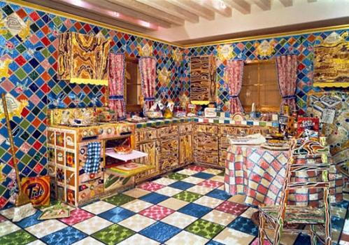 Kitchen by Liza Lou, Installation1, 1991-1996