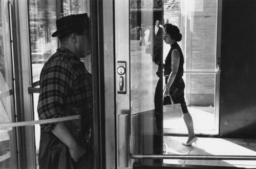 """Revolving Door"" (New York), by Lee Friedlander, 1963"