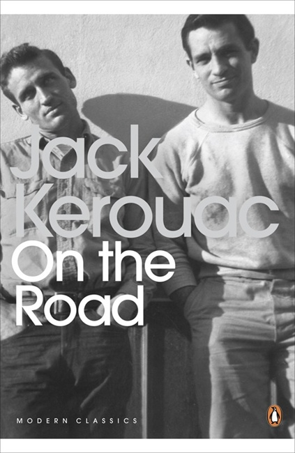 Jack Kerouac & Neal Cassady, Cover, On the Road by Jack Kerouac